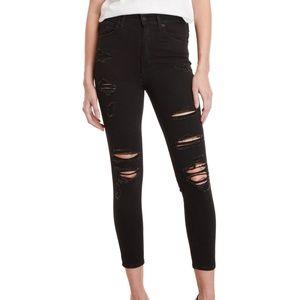 NWT Levi's Mile High Skinny Rockout Jeans Black 31